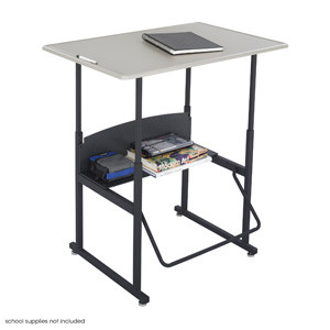 1206BE AlphaBetter Student Stand Up Desk 24 x 36 with Standard