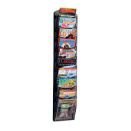 Safco 5579 10 Pocket Onyx Magazine Rack