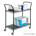 Safco 5337 Wire Utility Cart
