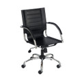 "Safco 3456 Flaunt Managers Chair 18"" to 21"" Adjustable Height"