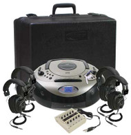 Califone 1886PLC Spirit SD Four Person Listening Center