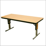 Midwest TL306EF Plywood Core Fixed Height Conference Table 30 x 72