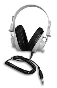 Califone 2924AVPV Deluxe Monaural Beige Headphones with Volume Control