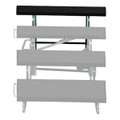 "Midwest TFA48 Fourth Step Add on for 48"" Wide Transfold Choral Riser Unit"