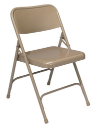 National Public Seating 200 Steel Folding Chair 17.5 Seat Height Set of 4