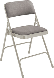 National Public Seating 2200 Fabric Upholstered Premium Folding Chair