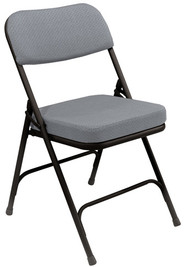 National Public Seating 3200 Two Inch Upholstered Folding Chair