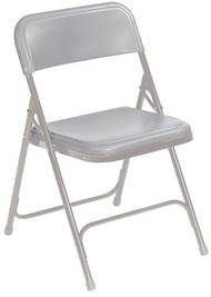 National Public Seating 800 Premium Lightweight Plastic Folding Chair