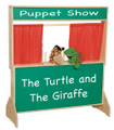 Wood Designs WD21650 Deluxe Puppet Theater with Chalkboard