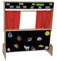Wood Designs WD21652 Deluxe Puppet Theater with Flannelboard