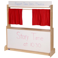 Steffy Wood Products ANG1037W Puppet Theatre Store