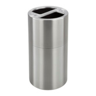 Safco 9631SS Dual Recycling Receptacle