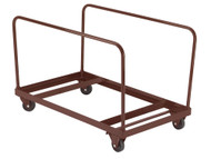 National Public Seating DY71R Round Folding Table Dolly