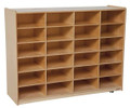 Wood Designs WD46009 24 Large Tray Storage Unit without Trays