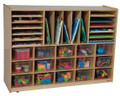 Wood Designs WD14001 Multi Storage with Clear Trays