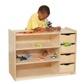 Wood Designs WD14475 Storage Center with Drawers