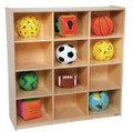 Wood Designs WD50912 12 Cubby Deep Storage