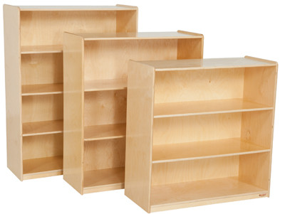 Wood designs wd13242 multi purpose bookshelf 42 inch How deep should a bookshelf be