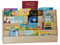 Wood Designs WD34248 Xtra Wide Double Sided Book Display