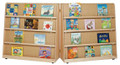 Wood Designs WD14343 Hinged Double Sided Book Display