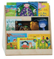 Wood Designs WD32200 Tot Size Two Sided Book Display