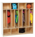 Wood Designs WD51208 Eight Section Space Saver Locker