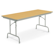 KI Heritage NH6 Fixed Height Folding Table 30 x 72