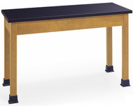 Community SC2448A-30 Stockton Science Table Black Laminate 48W x 24D