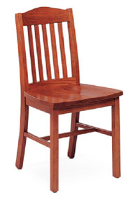 Community 353A Addison All Wood Armless Chair