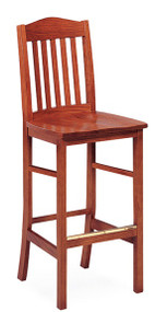 Community 358A Addison All Wood Barstool