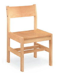 Community 18A Class Act All Wood Armless Chair