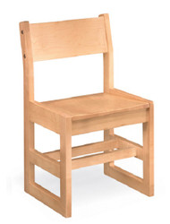 Community 19A Class Act All Wood Armless Chair