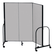 Screenflex FSL403 Three Panel Room Divider 4 x 5