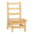 Jonti-Craft 5908JC2 Ladder Back Chairs 8 inch Seat Height Set of Two