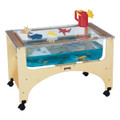 Jonti-Craft 2872JC Birch See Thru Sensory Table 20 inch Toddler Height