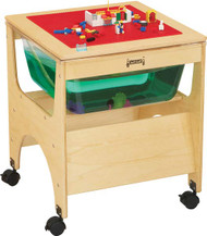Jonti-Craft 2870JC Birch Mini See Thru Sensory Table