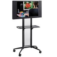 Safco 8926BL Impromptu Black Flat Panel TV Cart