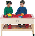 Jonti-Craft 2866JC Sensory Table with Shelf 20 inch Toddler Height