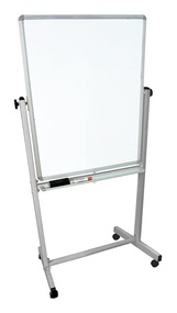 Luxor MB3040WW Double Sided Magnetic White Board