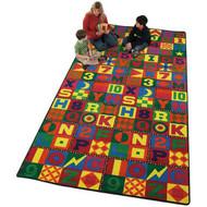 Flagship FE148-42A Floors That Teach Carpet 6 x 12 Feet