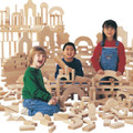 Jonti-Craft 0259JC UNIT BLOCKS 45 Piece Individual Set