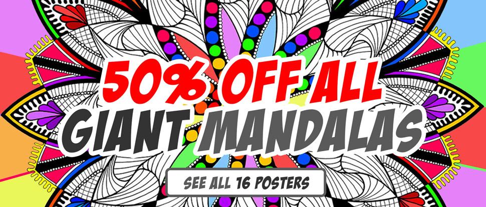 50% Off Mandalas