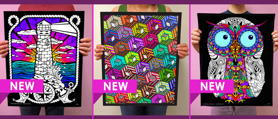 3 New Fuzzy Posters