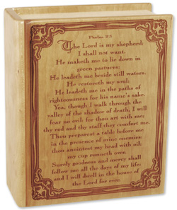 Bible Cremation Urn Psalm 23