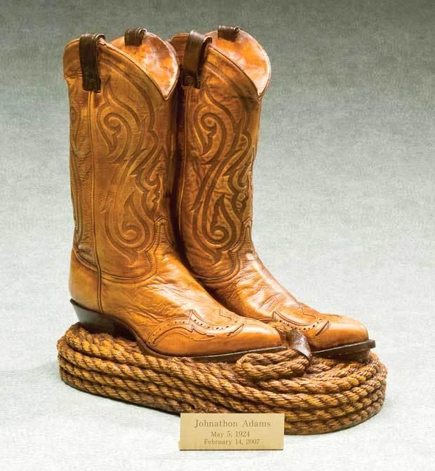 Cowboy Boots Urn