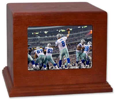 Dallas Cowboys Cremation Urn