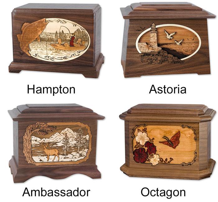 Dimensional Art Cremation Urn Shapes