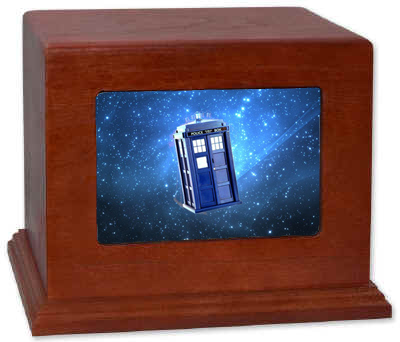 Doctor Who Cremation Urn