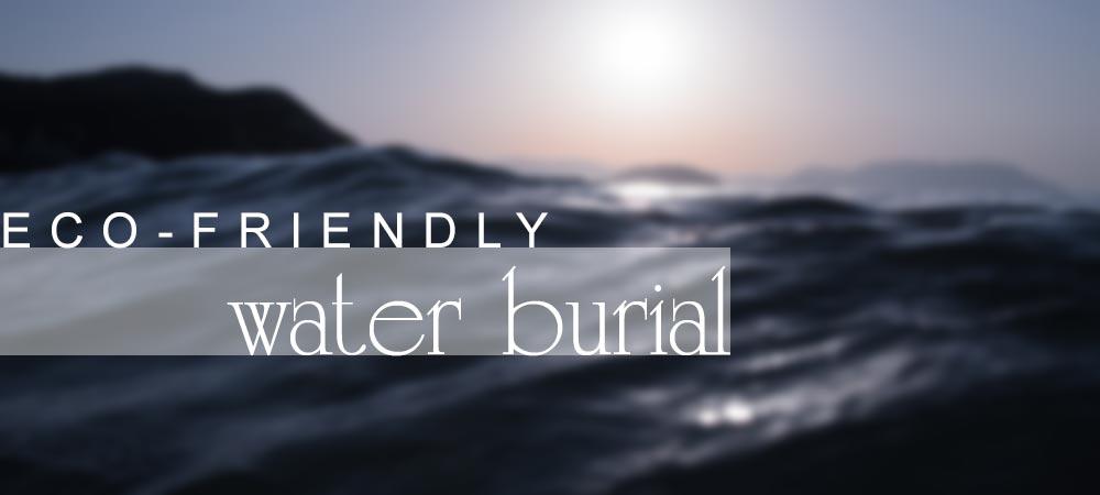 Eco Friendly water scattering ocean urns