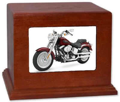 Harley Davidson Cremation Urn